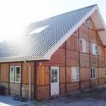 Bindingsværksinspireret  hus